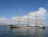 Segelschiff Krusenstern Stockbild
