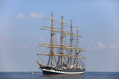 Segelschiff Krusenstern Lizenzfreies Stockfoto