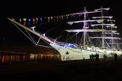 Segelschiff Nadezhda Lizenzfreie Stockfotografie