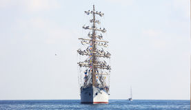 Segelschiff Nadezhda Lizenzfreies Stockbild