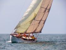 Segelschiff-Reihe Lizenzfreies Stockfoto
