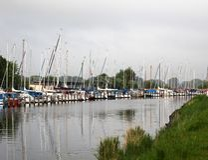 Segelschiffe Stockfoto