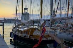Segelschiffe Stockfotos