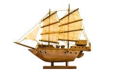 Segelschiffmodell Stockfotografie