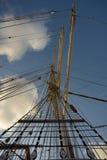 Segelschifftakelung Lizenzfreie Stockfotos