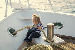 Segelsport- und Segelnkonzept Lizenzfreies Stockbild