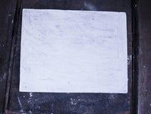 Segeltuch in einem alten Raum, Schmutz Lizenzfreie Stockbilder