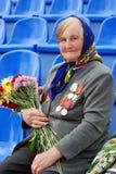 seger för veteran för dagrussia gata Arkivbild