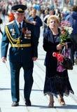 seger för veteran för dagrussia gator Royaltyfri Fotografi