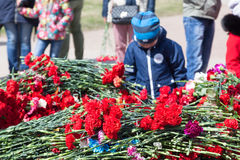 Segerdag i St Peterburg Royaltyfri Bild