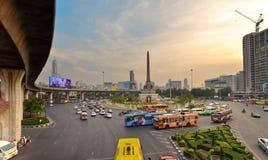Segermonument Bangkok, Thailand Fotografering för Bildbyråer