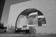 Segerstrom Hall - B&W Royalty Free Stock Photography