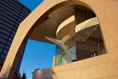 Segerstrom Hall - fin Photo libre de droits