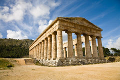 segesta Сицилия стоковые изображения rf