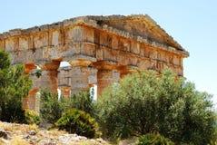 Segesta (西西里岛) 库存图片