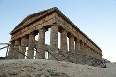 Segesta -西西里岛 免版税库存图片