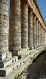Segesta columns Stock Photo