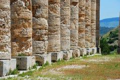 Segesta (Sicília) Fotografia de Stock