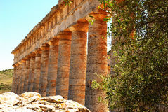 Segesta (Sicília) Foto de Stock