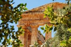 Segesta (Sicília) Fotografia de Stock Royalty Free