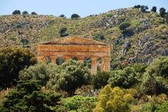 Segesta (Sicília) Imagem de Stock