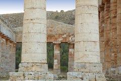 Segesta - Sicília Foto de Stock