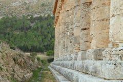 Segesta - Sicília Fotos de Stock Royalty Free