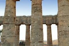 Segesta - Sicília Fotografia de Stock Royalty Free