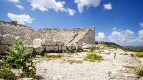 Segesta, Sicília, Itália Fotografia de Stock Royalty Free