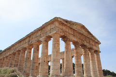 Segesta Sicilia Italia Fotografie Stock Libere da Diritti