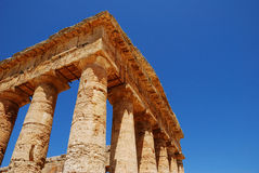 Segesta (Sicily) Royalty Free Stock Photos