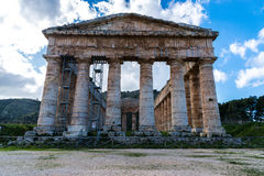Segesta temple_1 stock images