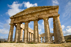 Segesta Temple, Sicily Royalty Free Stock Images
