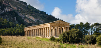 Segesta temple, Sicily Stock Photos