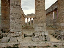 Segesta Temple Royalty Free Stock Images