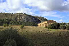 Segesta temple Royalty Free Stock Photography