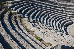 Segesta theatrical seating in Sicily Royalty Free Stock Images