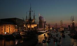SEGLA Amsterdam 2015 Arkivbilder