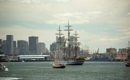 Segla Boston 2000 Arkivbild