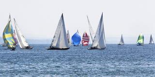 segla för fartyg Royaltyfri Foto