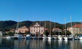 Segla för Kroatien Royaltyfria Bilder