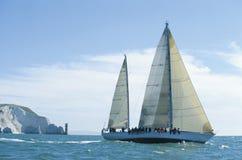 segla för visare Arkivbilder