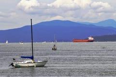Segla fartyg och skepp Royaltyfri Fotografi