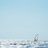 segla havet vindsurfar Fotografering för Bildbyråer