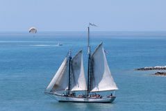 Segla i Key West Fotografering för Bildbyråer