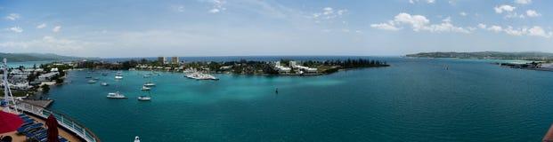 Segla marina på dagsljus i Montego Bay - Jamaica Arkivbild