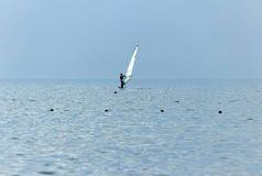 Segla på havet Fotografering för Bildbyråer