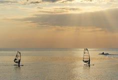 Segla på havet Royaltyfria Foton