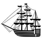 segla ship stock illustrationer