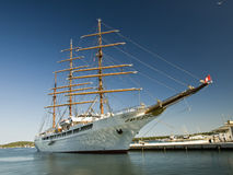 segla ship Royaltyfria Bilder